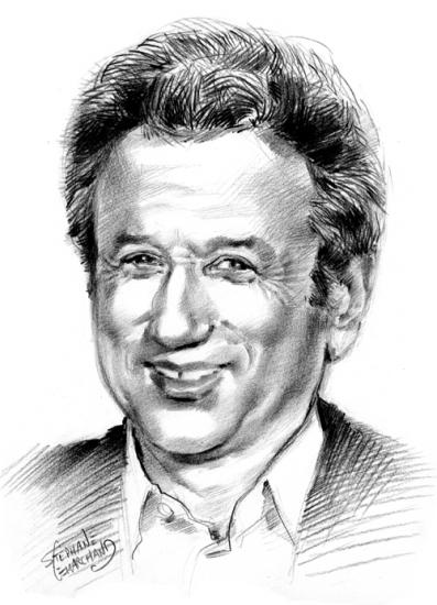 Michel Drucker par caricature-online
